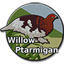 Willow ptarmigan badge