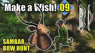 TheHunter Hunting Game - SAMBAR Bow Hunt (Make a Wish 9)