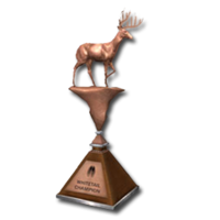 Trophy wt bronze