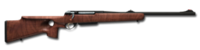Bolt action rifle anschutz 308 256