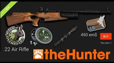 TheHunter Air Rifle & Rabbit exclusive first look 2014