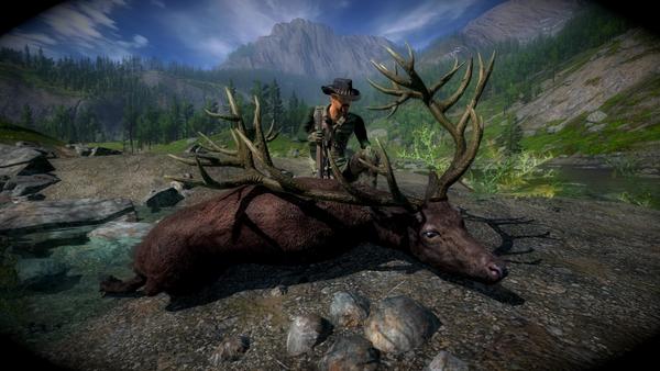 Makaan melanistic red deer 270