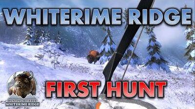 TheHunter First Hunt in WHITERIME RIDGE