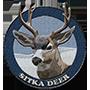 Sitka deer badge