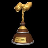 Trophy spot gold