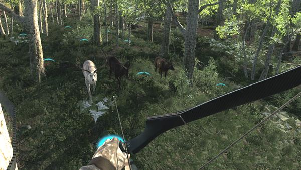 Semhunting two rare elk