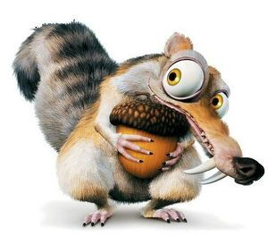 """Image result for scrat the squirrel"""""""