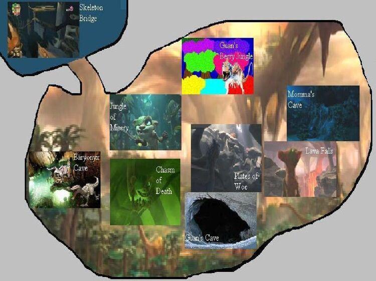 DinoWorldMap