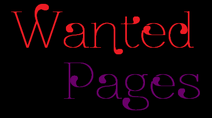 Wanted Pages