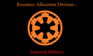 Resource Allocation Division - Imperial Military Logo