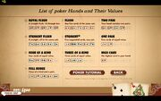 Poker Card Hierarchy