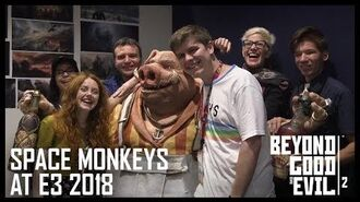 Beyond Good and Evil 2 Space Monkeys at E3 2018 - Private BGE2 Demo and HitRECord Ubisoft NA