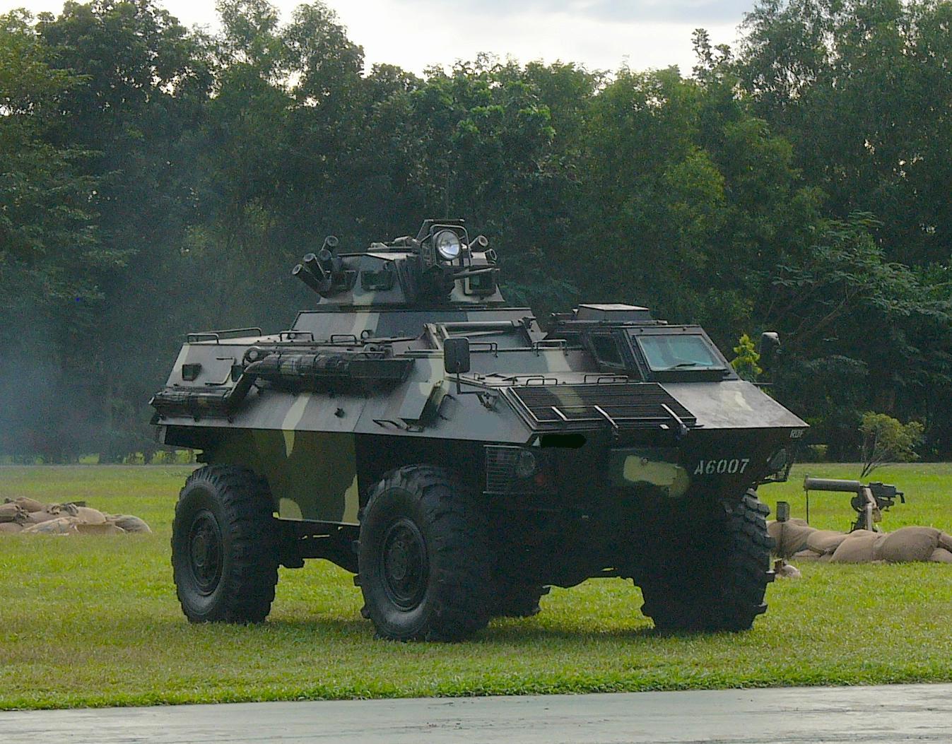 VEHICLE: Simba Light Armored Vehicle