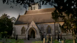Denholm's funeral church