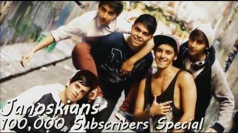 Janoskians Journey to 100,000 subscribers