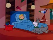 Elroy in bed Elroy in Wonderland