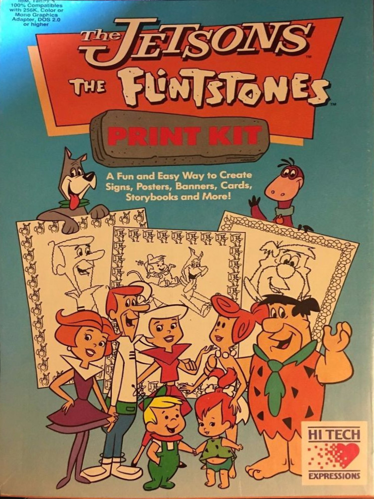 The Jetsons The Flintstones Print Kit | The Jetsons Wiki | FANDOM ...