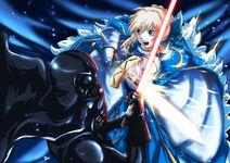 Battle of Knights Commission by raidenokreuz76