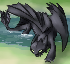 River Night Fury by Sareii