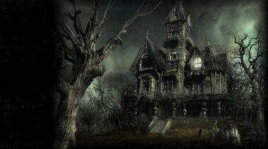 Haunted-mansion-evil-castle