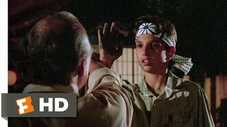 The Lessons Come Together - The Karate Kid (5 8) Movie CLIP (1984) HD