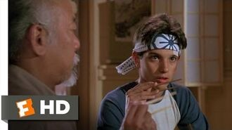 The Karate Kid (4 8) Movie CLIP - Catching a Fly With Chopsticks (1984) HD