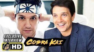 Ralph Macchio COBRA KAI Interview for Season 2 & 3 at Comic-Con!