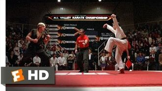 The Crane Kick - The Karate Kid (8 8) Movie CLIP (1984) HD