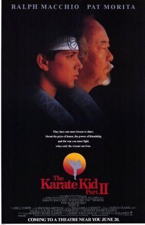 The Karate Kid II cover