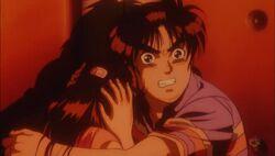 Kindaichi and Miyuki Attempted Murder on Opera House (Anime)