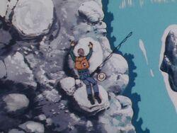 Gozo Gamo's Dead Body (Anime)