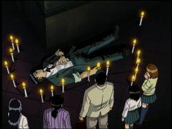 Yasuhiro Kadowaki's Dead Body (Anime)