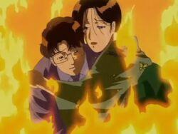 Midori Madarame and Masayuki Onodera Suicide (Anime)