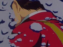 Tatsuki Shiramine Attacked (Anime)