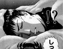 Tatsuki Shiramine Attacked (Manga)
