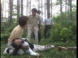 Miyuki Nanase Attacked by Jason (Dorama)