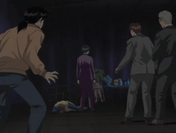 Takashi Inukai's Dead Body (Anime)