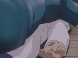 Saburo Ogitani's Dead Body (Anime)