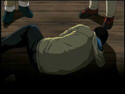 Mitsunari Nekota's Dead Body (Anime)