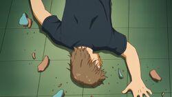 Akira Fujimori's Dead Body (Anime)