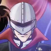 Yoichi Takato as Maskman (Young Kindaichi's Trip of Death Preparedness Anime Portrait)