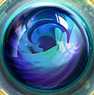 Círculo azul