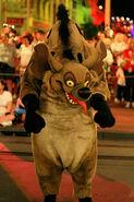 Hyena at Disney Park