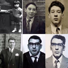 Ronnie Kray over the year, 1933-1995