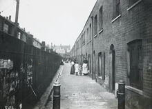 Bethnal green slum
