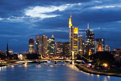 Frankfurt am Main skyline, Principality of Belka