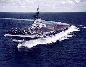 Essex class aircraft carrier