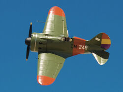 Polikarpov I-16-Spain (clipped and decolored)
