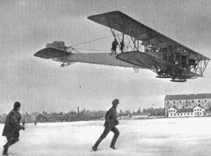Ilya Muromets flying