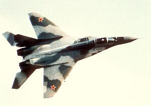 Soviet Mikoyan-Gurevich MiG-29 Fulcrum